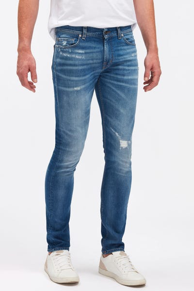 RONNIE ARIES MID BLUE DISTRESSED
