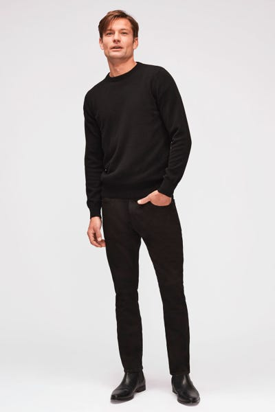 7 For All Mankind - Ronnie Luxe Performance Rinse Black