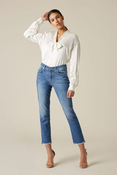 7 For All Mankind - Asher Vintage Robertson With Roll Hem