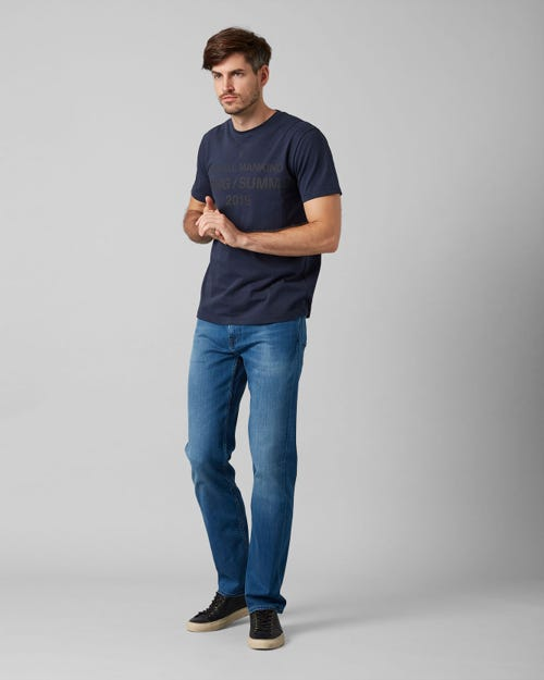 7 For All Mankind - Standard Luxe Performance Mid Blue