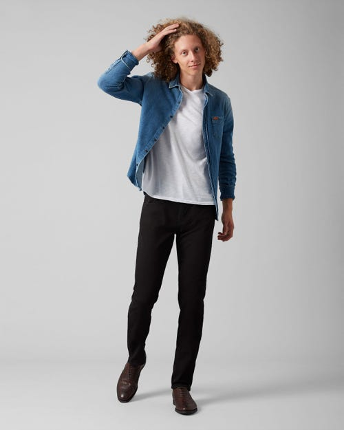 7 For All Mankind - Kayden Luxe Performance Rinse Black
