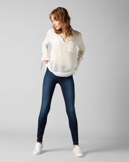 7 For All Mankind - The Skinny Slim Illusion Luxe Cruz