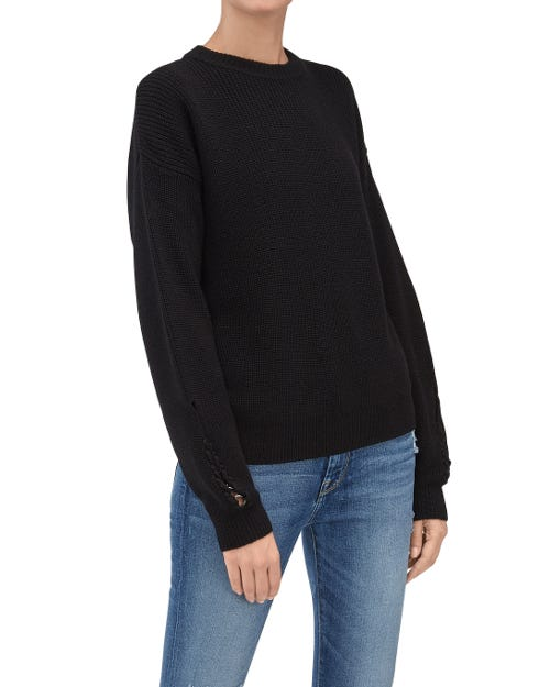 CREWNECK KNITWEAR WOOL BLACK