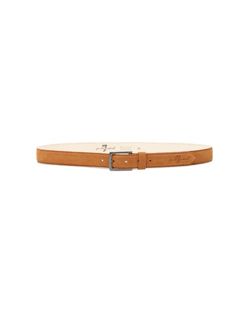 7 For All Mankind - Suede Belt Leather Beige