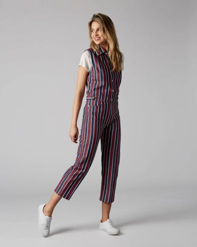 7 For All Mankind - Sleeveless Overall Star Spangled
