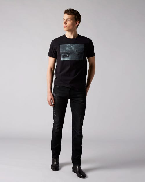7 For All Mankind - Ronnie Rodez Distressed