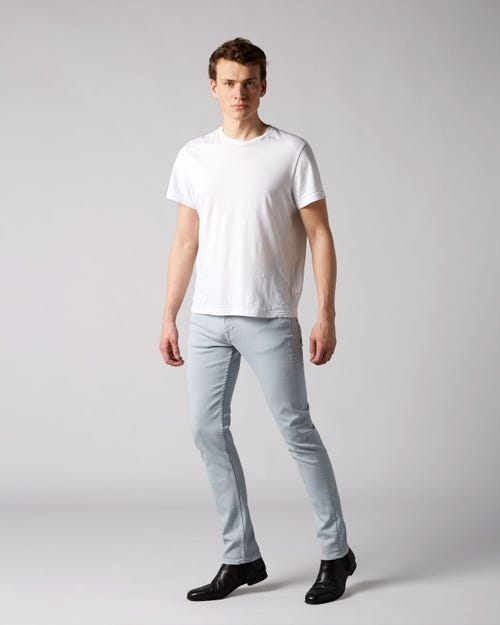 7 For All Mankind - Ronnie Left Hand Colors Blue Chill