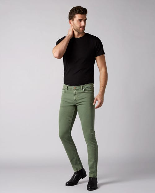 7 For All Mankind - Ronnie Left Hand Colors Pistachio