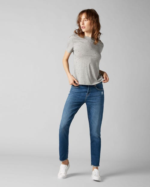 7 For All Mankind - Asher Vintage Sycamore With Roll Hem