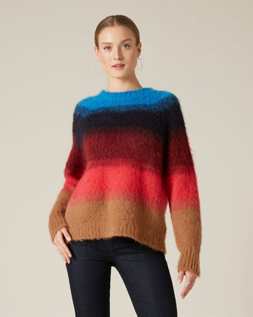 SWEATER WOOL ALPACA MULTICOLOUR