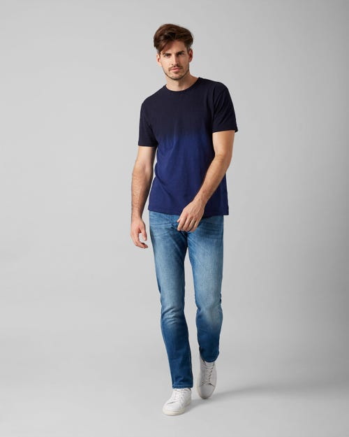 7 For All Mankind - Larry Left Hand Cotillo Mid Blue