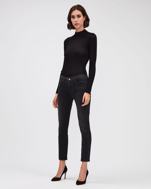 PYPER CROP BAIR COSMIC WITH EMBELLISHED LABELS