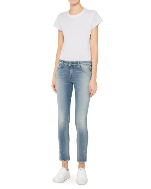 7 For All Mankind - Pyper Crop Slim Illusion Uprising