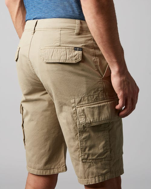 7 For All Mankind - Cargo Short Light Weight Twill Stone