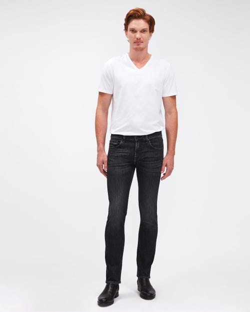 SLIMMY LUXE PERFORMANCE WASHED BLACK
