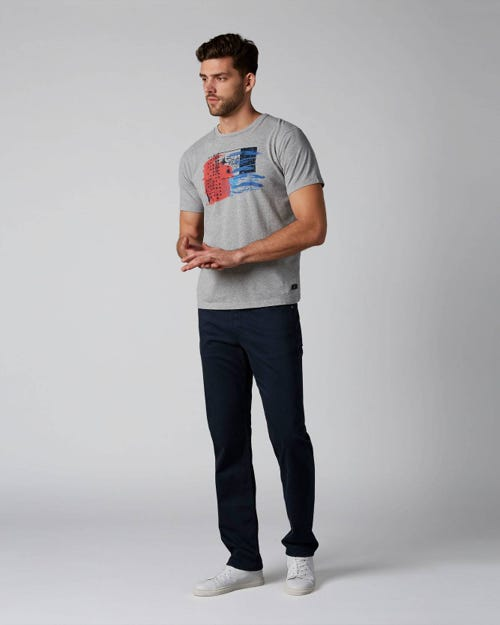 7 For All Mankind - Slimmy Luxe Performance Sateen Navy Navy