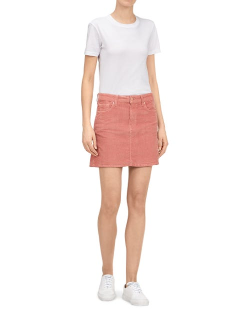 SKIRT CORDUROY BLUSH