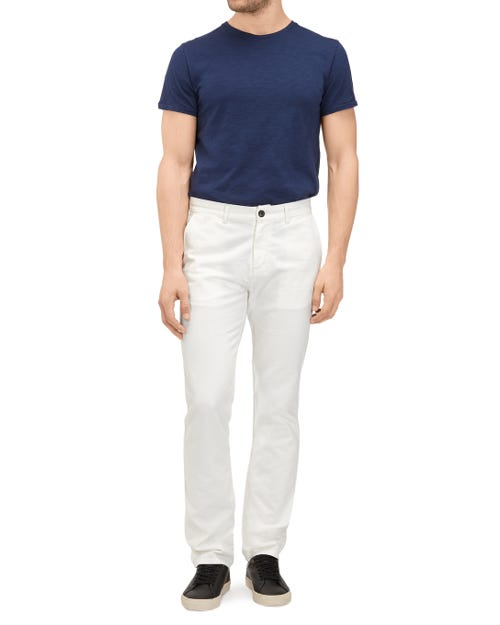 SLIMMY CHINO CASHMERE COLORS FROST WHITE