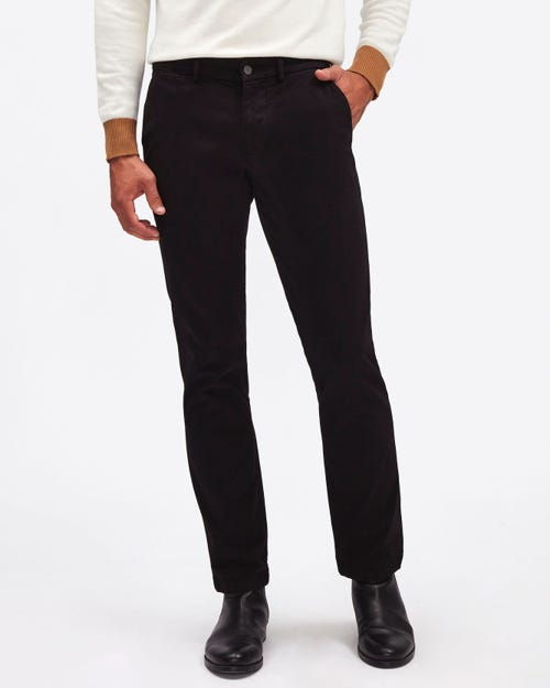 SLIMMY CHINO LUXE PERFORMANCE SATEEN BLACK