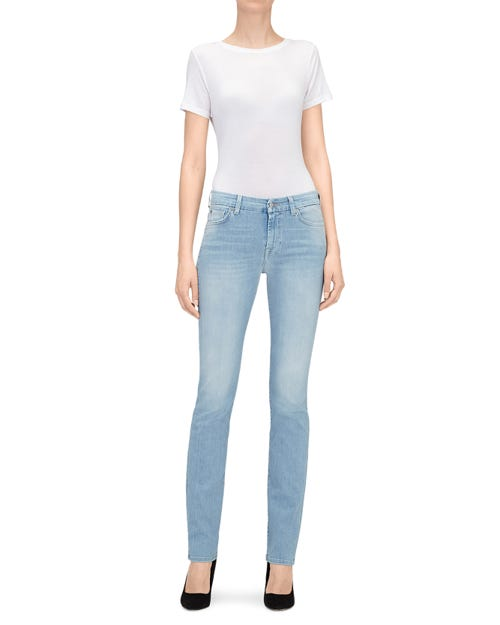 7 For All Mankind - Kimmie Straight Slim Illusion Air