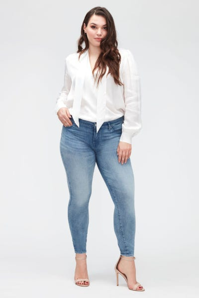 7 For All Mankind - The Skinny Crop B(Air) Mirage