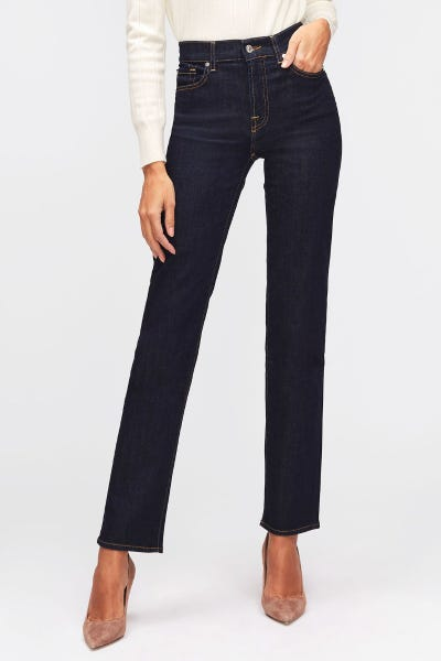 7 For All Mankind - The Straight B(Air) Clean Rinse