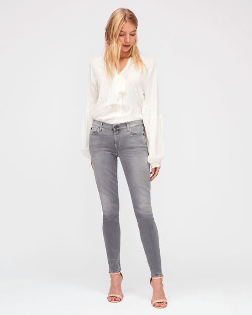 7 For All Mankind - The Skinny Slim Illusion Grey