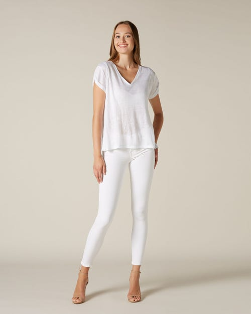 THE SKINNY SLIM EVOLUTION SIMPLY WHITE