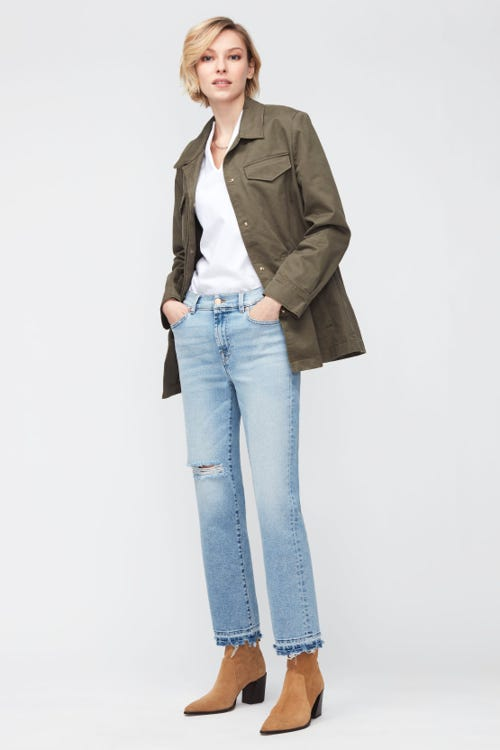 THE STRAIGHT CROP LUXE VINTAGE CALLING
