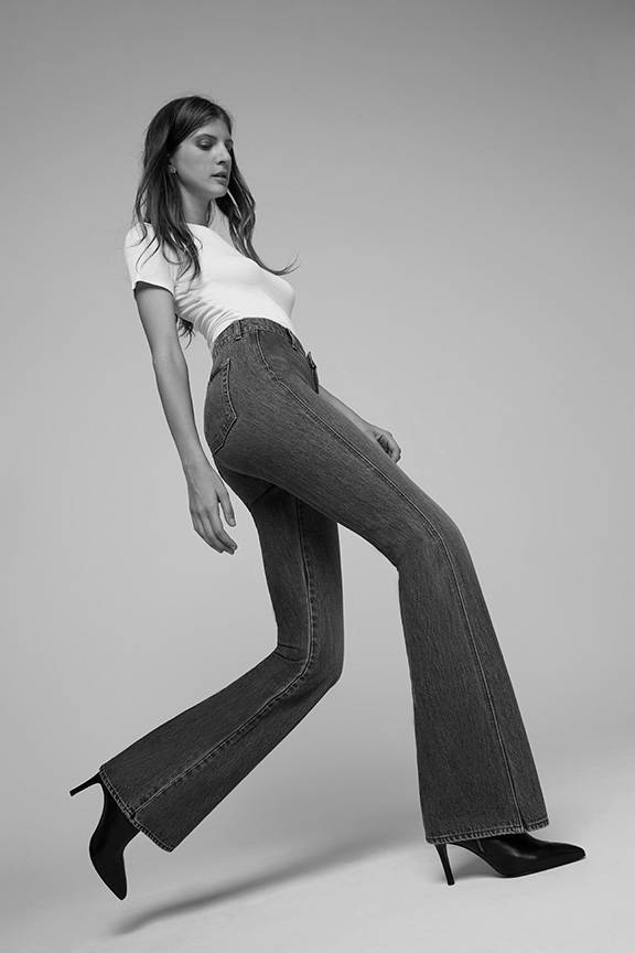 7 Wide legs -  7 For all Mankind - Jeans, Vestes & Vêtements Denim